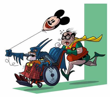 عاقبت شخصیت های محبوب کارتونی /عکس