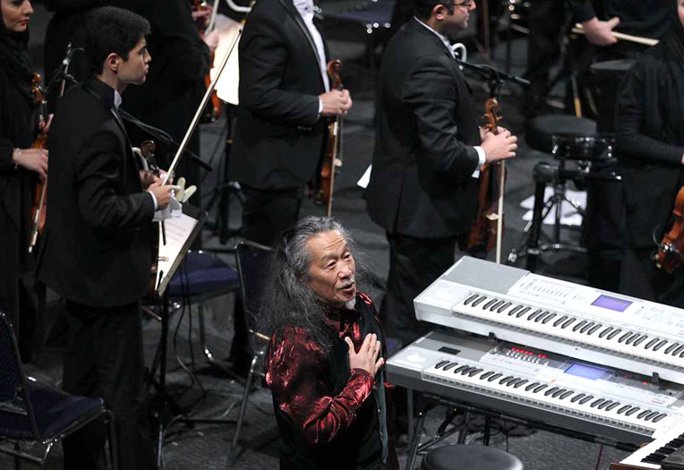 تصاویری از کنسرت کیتارو در تهران