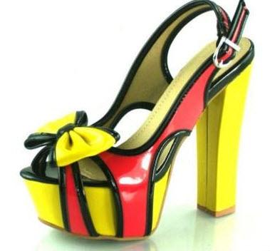 پاشنه بلندترین مدل کفش مجلسی