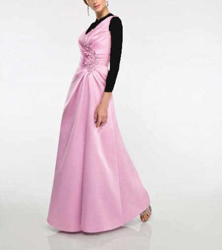 زیباترین مدل لباس مجلسی بلند زنانه