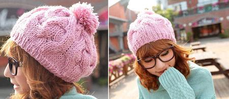 فانتزی ترین مدل کلاه بافتنی دخترانه