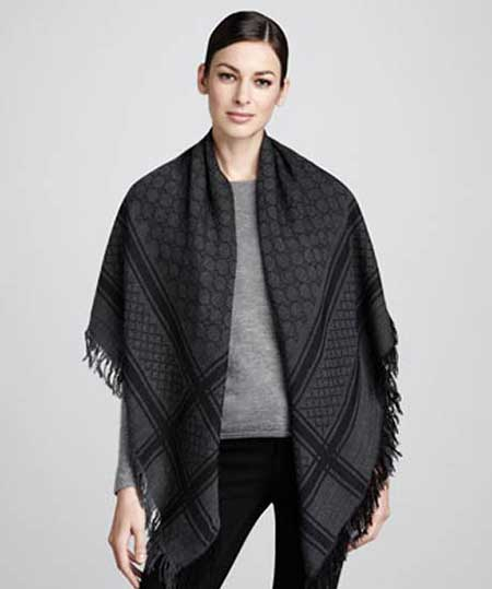 مدل های جذاب از روسری و شال پاییزه GUCCI