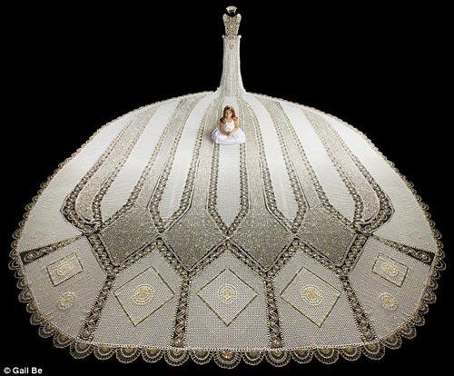 مدل خارق العاده از لباس عروس