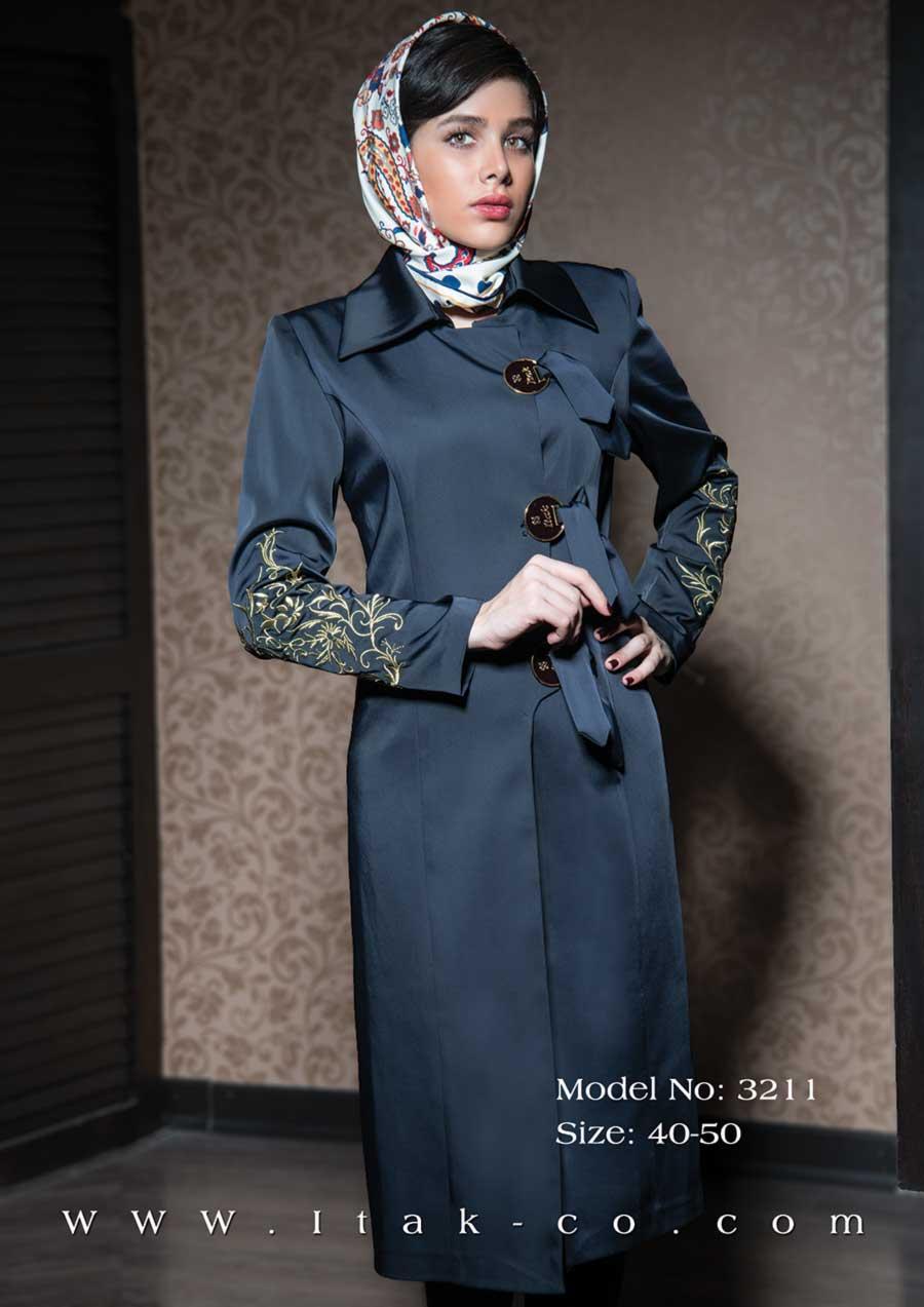 مدل مانتو باجنس کرپ شیک ترین مدل مانتو برای عید نوروز 93