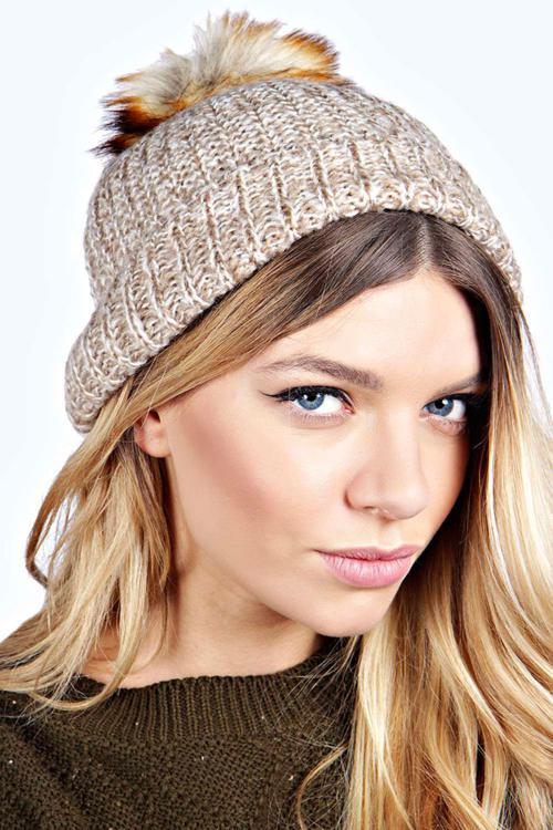 کلاه بافتنی جدید 2015 دخترانه