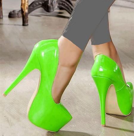 زیباترین مدل کفش های پاشنه بلند ده سانتی