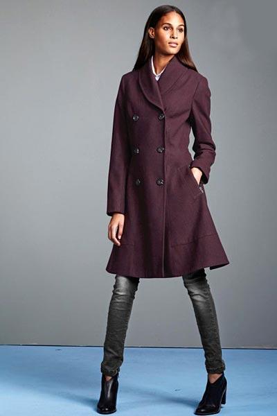 زیباترین مدل پالتو زنانه همراه با ساپورت