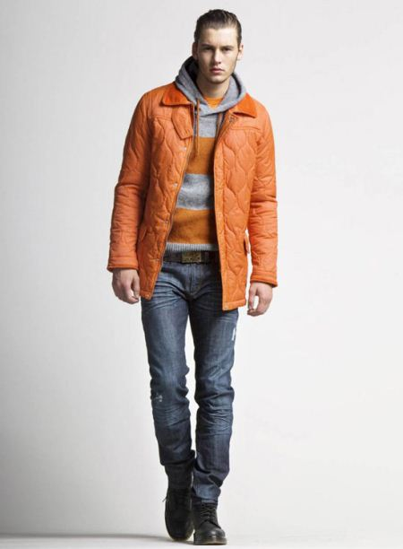 مدل جذاب از لباس زمستانی مردانه