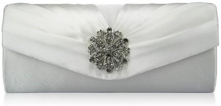 مدل های جذاب از کیف دستی سفید عروس
