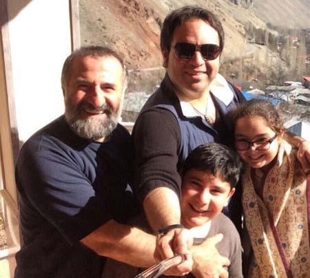 عکس سلفی 2 بازیگر مشهور ایرانی