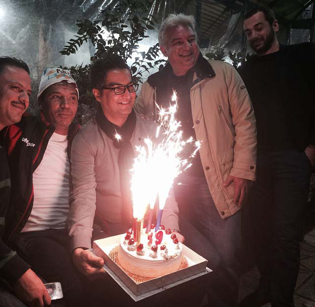 جشن تولد بازیکن سابق پرسپولیس /عکس