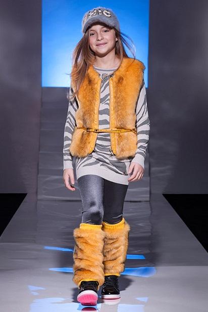 مدل لباس زمستانی دخترانه از مجله مد و فشن