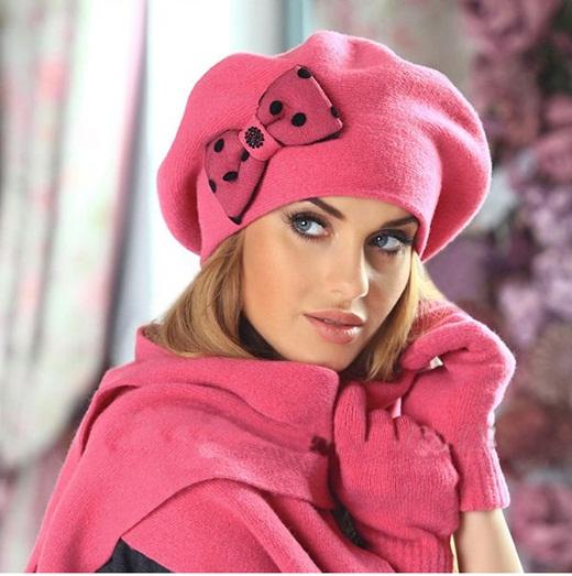 مدل شال و کلاه دخترانه شیک و فانتزی