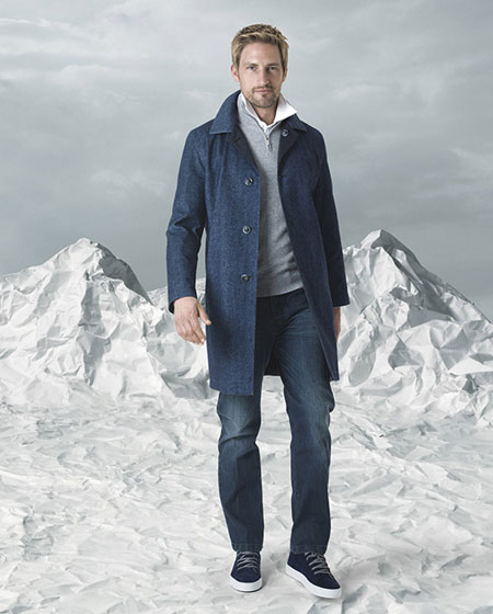 مدل شیک از لباس زمستانی مردانه