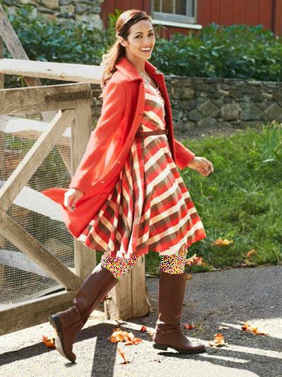 لباس پاییزی جذاب ویژه خانم های خوش پوش