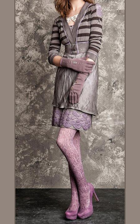 لباس پاییزی و زمستانی 1 لباس جذاب زمستانی دخترانه اسپرت برند Daniela Dallavalle