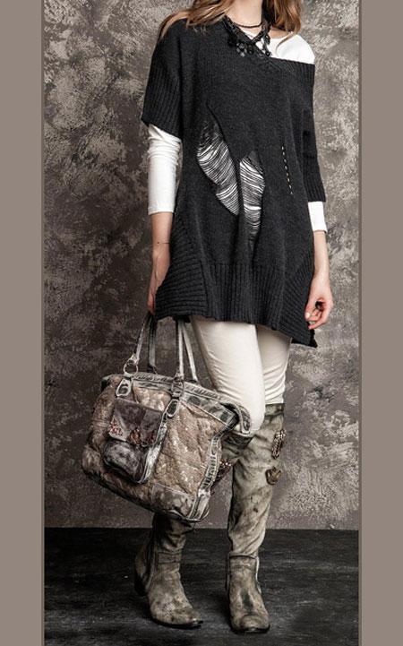 لباس پاییزی و زمستانی 10 لباس جذاب زمستانی دخترانه اسپرت برند Daniela Dallavalle