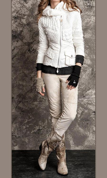 لباس پاییزی و زمستانی 4 لباس جذاب زمستانی دخترانه اسپرت برند Daniela Dallavalle