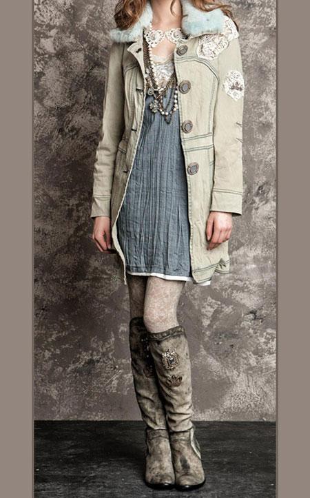 لباس پاییزی و زمستانی 5 لباس جذاب زمستانی دخترانه اسپرت برند Daniela Dallavalle