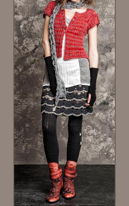 لباس پاییزی و زمستانی 6 لباس جذاب زمستانی دخترانه اسپرت برند Daniela Dallavalle