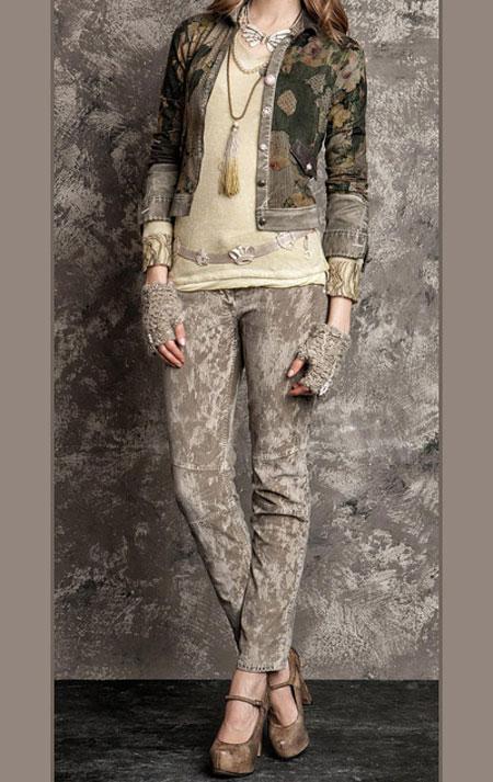 لباس پاییزی و زمستانی 7 لباس جذاب زمستانی دخترانه اسپرت برند Daniela Dallavalle