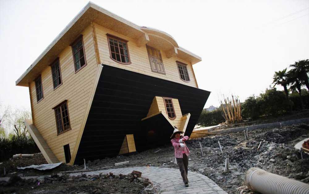 طراحی عجیب یک خانه / عکس