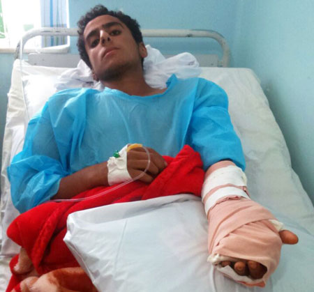 تنبیه دانش آموز با لوله پولیکا در ایران! +عکس