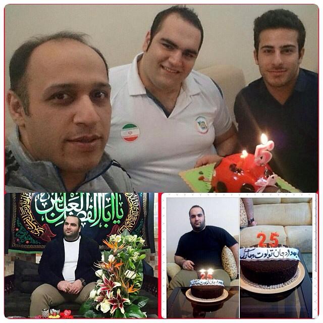 جشن تولد 25 سالگی بهداد سلیمی +عکس