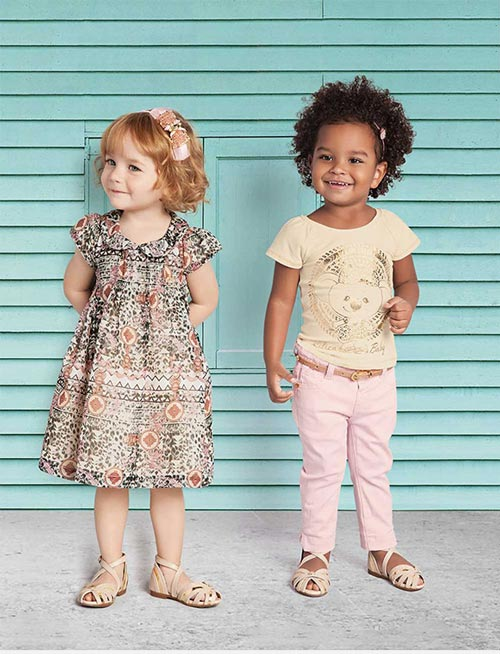 لباس بچگانه و دخترانه اسپرت برند lilica ripilica