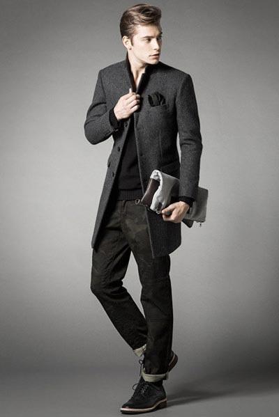 لباس زمستانی مردانه شیک برند HALB