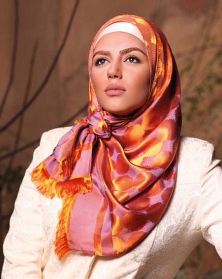 تاپ ترین مدل بستن شال و روسری