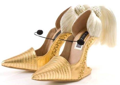 عجیب ترین مدل کفش های زنانه