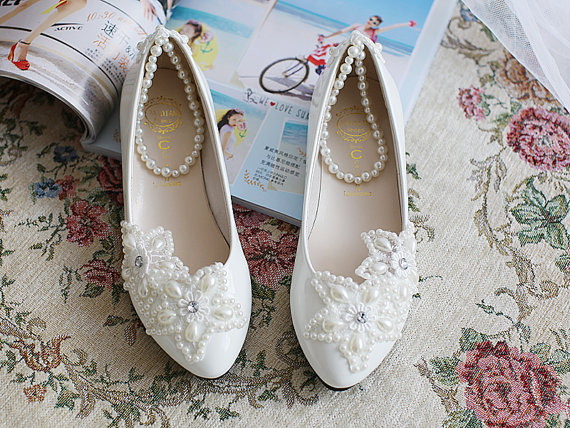 مدل کفش راحتی ویژه عروس خانم ها