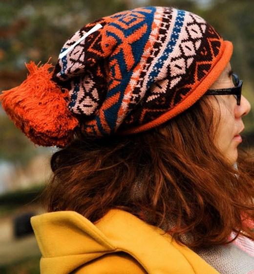 مدل کلاه بافتنی زنانه با طرح های متنوع