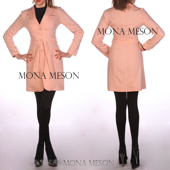 مدل مانتو کوتاه دخترانه برند مونا