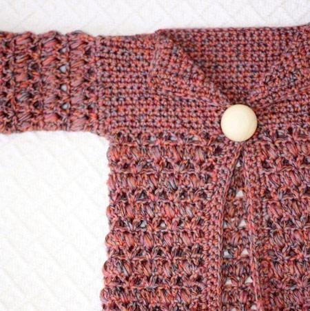 مدل لباس قلاب بافی بچگانه
