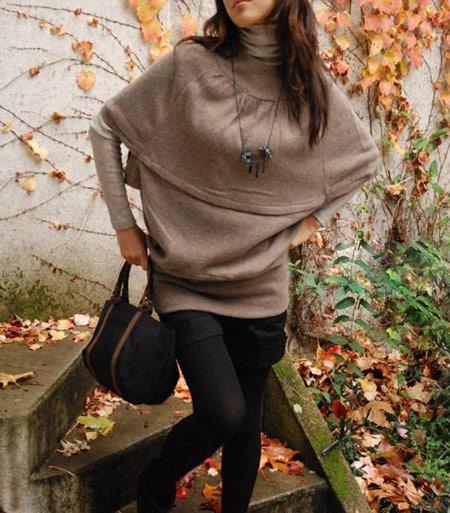 مدل جذاب از بلوز بافتنی 2015 دخترانه