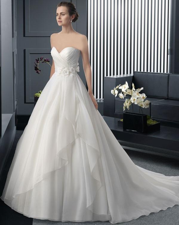 لباس عروس شیک و ساده 2015