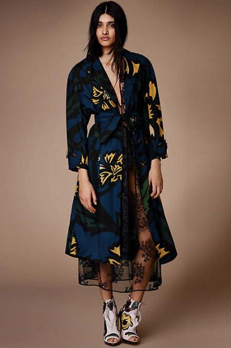 مدل های زیبا از پالتو طرحدار زنانه و دخترانه