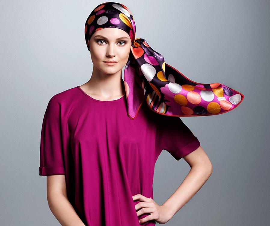مدل روسری و شال رنگارنگ مجلسی