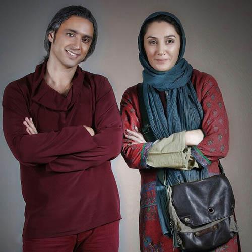 هدیه تهرانی در کنار مازیار فلاحی / عکس
