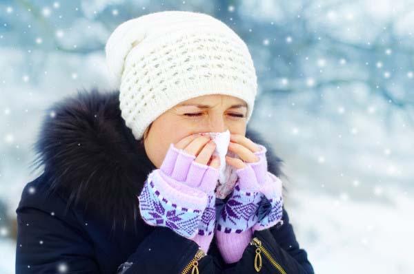 ۴ بیماری که با زمستان می آیند!