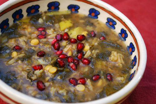 طرز تهیه سوپ انار خوشمزه