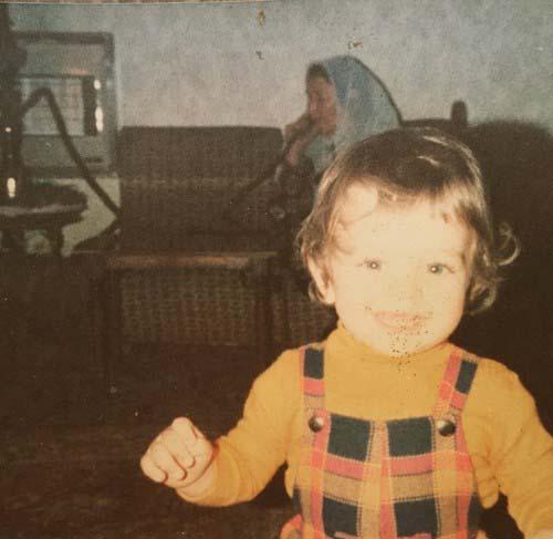 بهرام رادان در کودکی + عکس