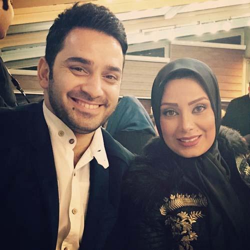 صبا راد و همسرش / عکس