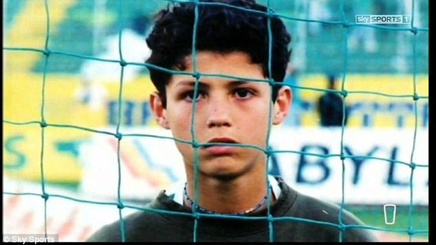 کریس رونالدو از کودکی تا نوجوانی / تصاویر