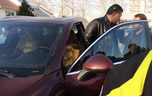 ماشین جدید علی دایی