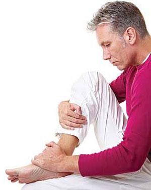 دلیل گرفتگی ماهیچه پا چیست؟