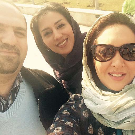 000676 عکس سلفی نیکی کریمی در جشنواره فیلم فجر