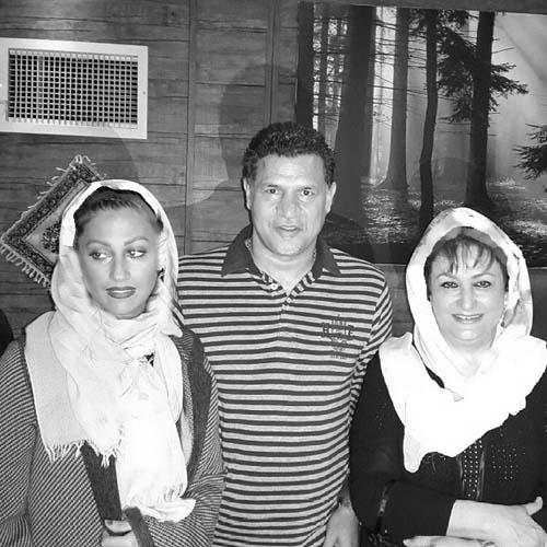 علی دایی در کنار همسرش / عکس